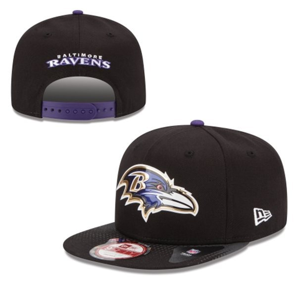 Baltimore Ravens Snapback Black Hat 1 XDF 0620